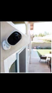 130° Wide Angle Security Camera