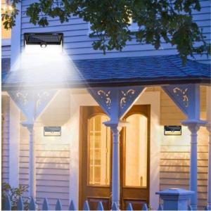 LED Motion Sensor Outdoor Solar Lights